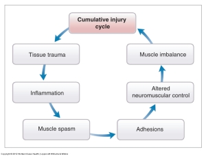 How injury happens in the body